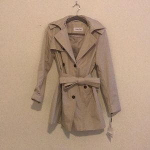 Calvin Klein Trench Coat tan